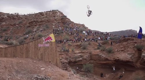 Furthest Mountain Bike Back Flip Ever