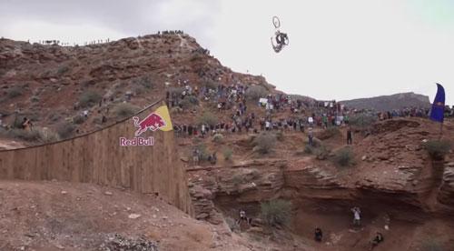 Furthest Mountain Bike Back Flip Ever
