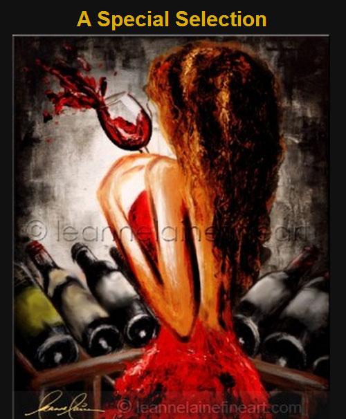 Beautiful Wine Art – Leanne Laine