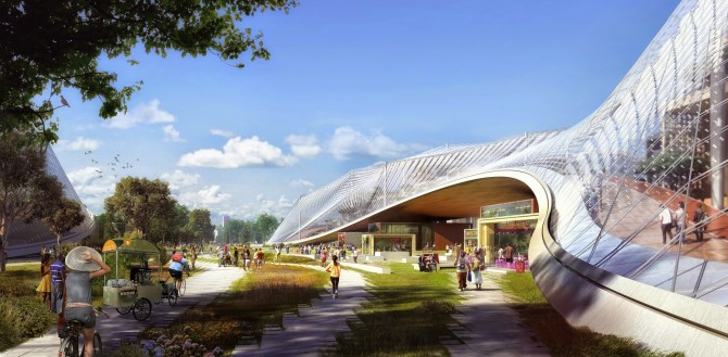 Google's New Campus Looks Amazing – Open Concept to the Limit