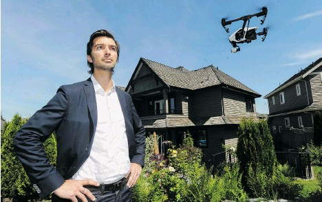 Drones are Disrupting Real Estate Marketing