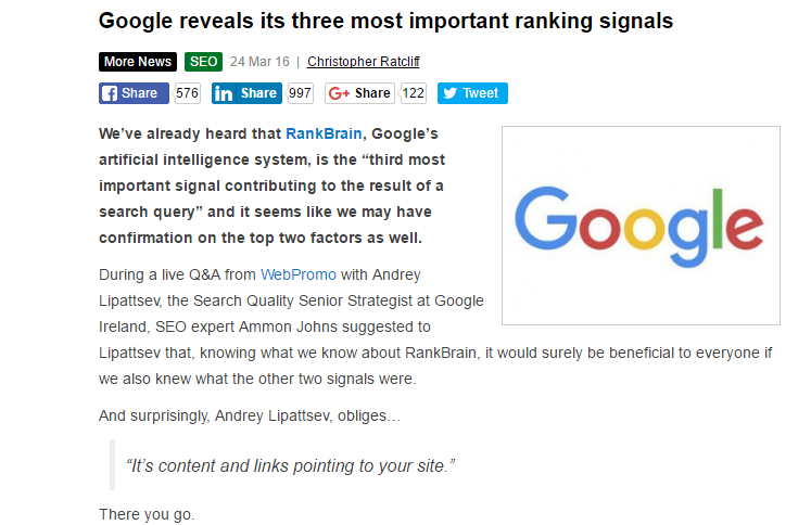 googleranking3factors
