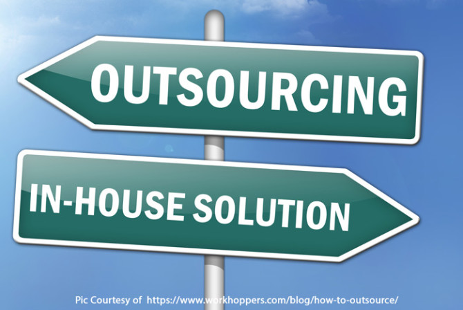 Inhouse vs Outsourcing to Experts – You Choose your Result