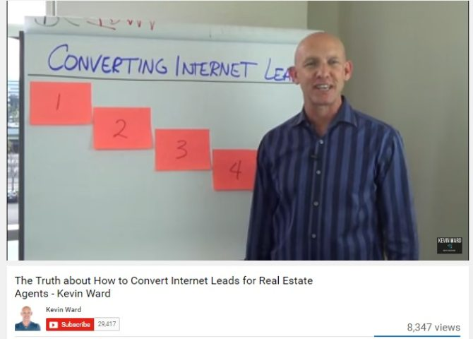 How to Convert Internet Leads – 5 Point Lead Conversion Process by Kevin Ward